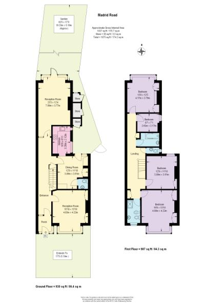 4 Bedroom Property To Rent In Madrid Road Barnes Sw13