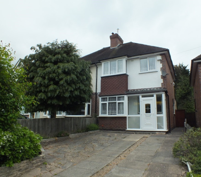 3 Bedroom Semi-detached To Rent In Flaxley Road, Stechford