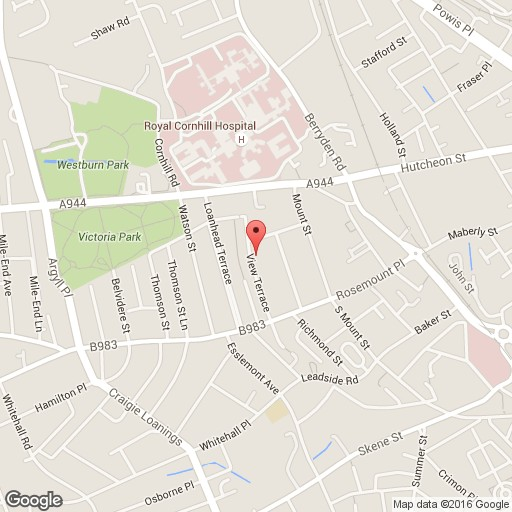 3 bedroom flat to rent in view terrace aberdeen ab25 2rr for Terrace view map