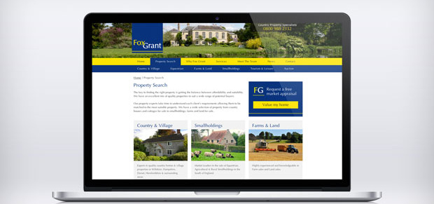 Fox Grant Launches New Property Website