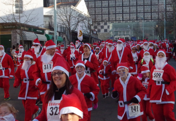 Ho Ho Ho, Santa Fun Run success story