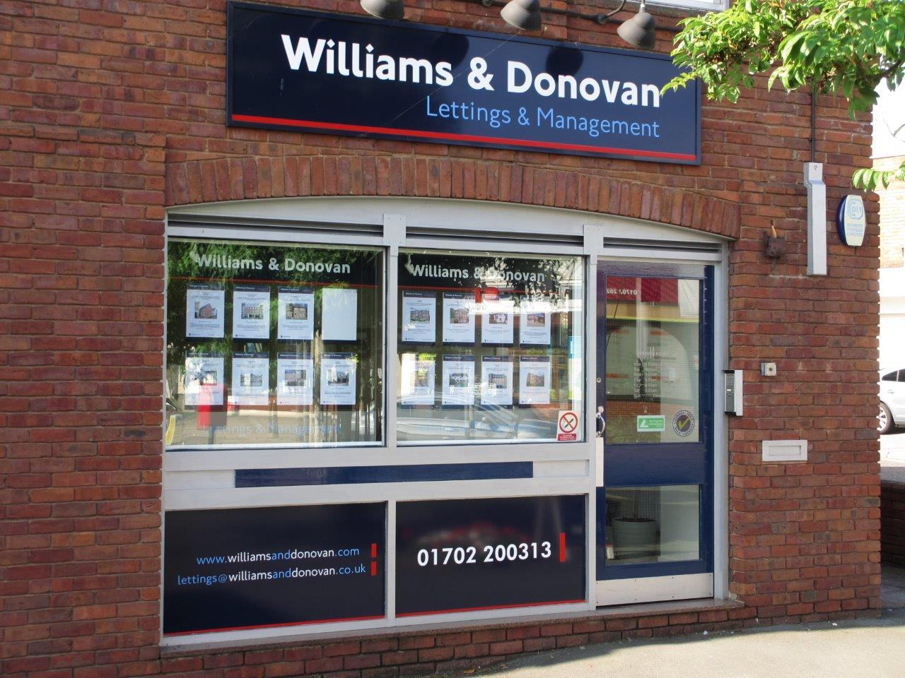 Williams & Donovan | Hockley Lettings  | Branch image 1