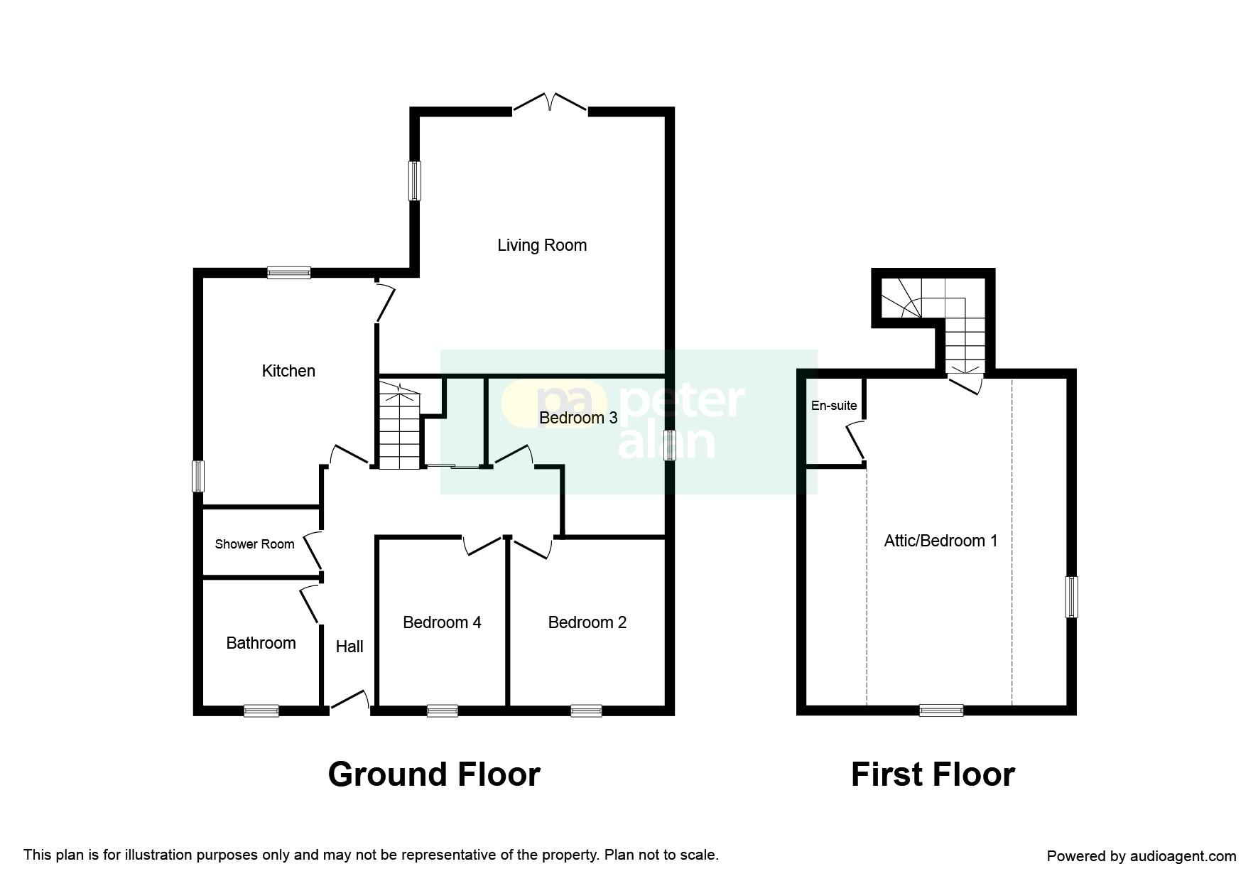 4 bedroom property for sale in pantygraigwen road for Q kitchen pontypridd