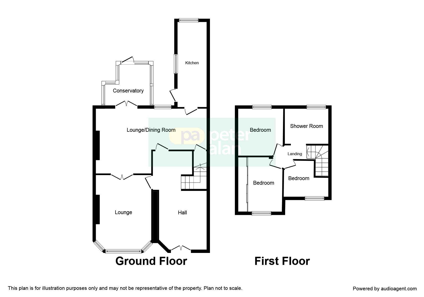 3 bedroom property for sale in ty gwyn road pontypridd for Q kitchen pontypridd