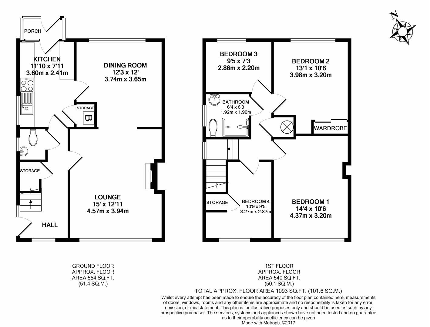 4 Bedroom Property For Sale In Manor Walk Thornbury