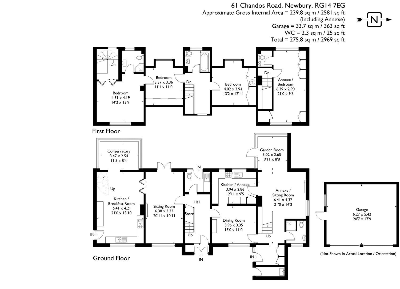 4 Bedroom Property For Sale In Chandos Road Newbury