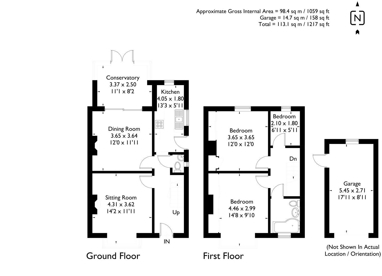 3 Bedroom Property For Sale In Montgomery Road Newbury