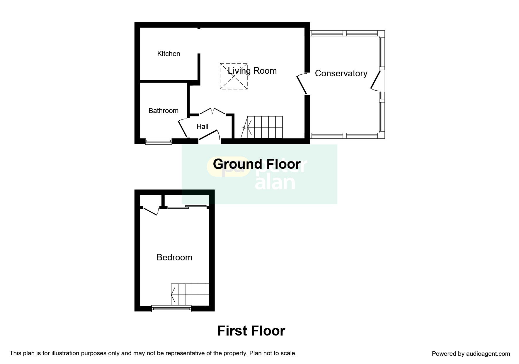 1 bedroom property for sale in st davids crescent newport - Living room letting agency cardiff ...
