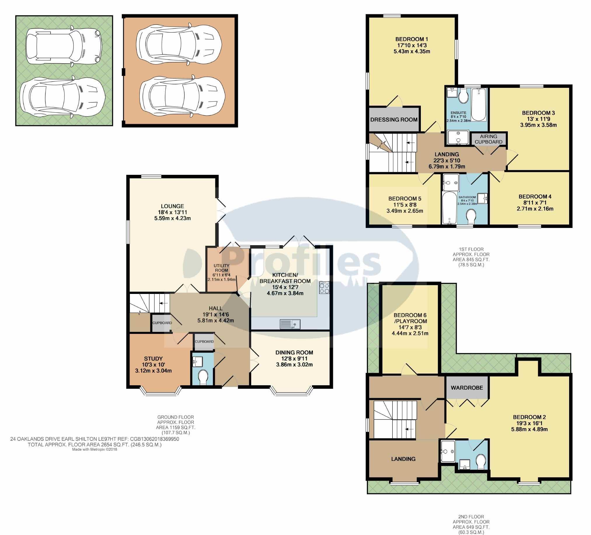 5 Bedroom Property For Sale In Oaklands Drive Earl Shilton 369 995