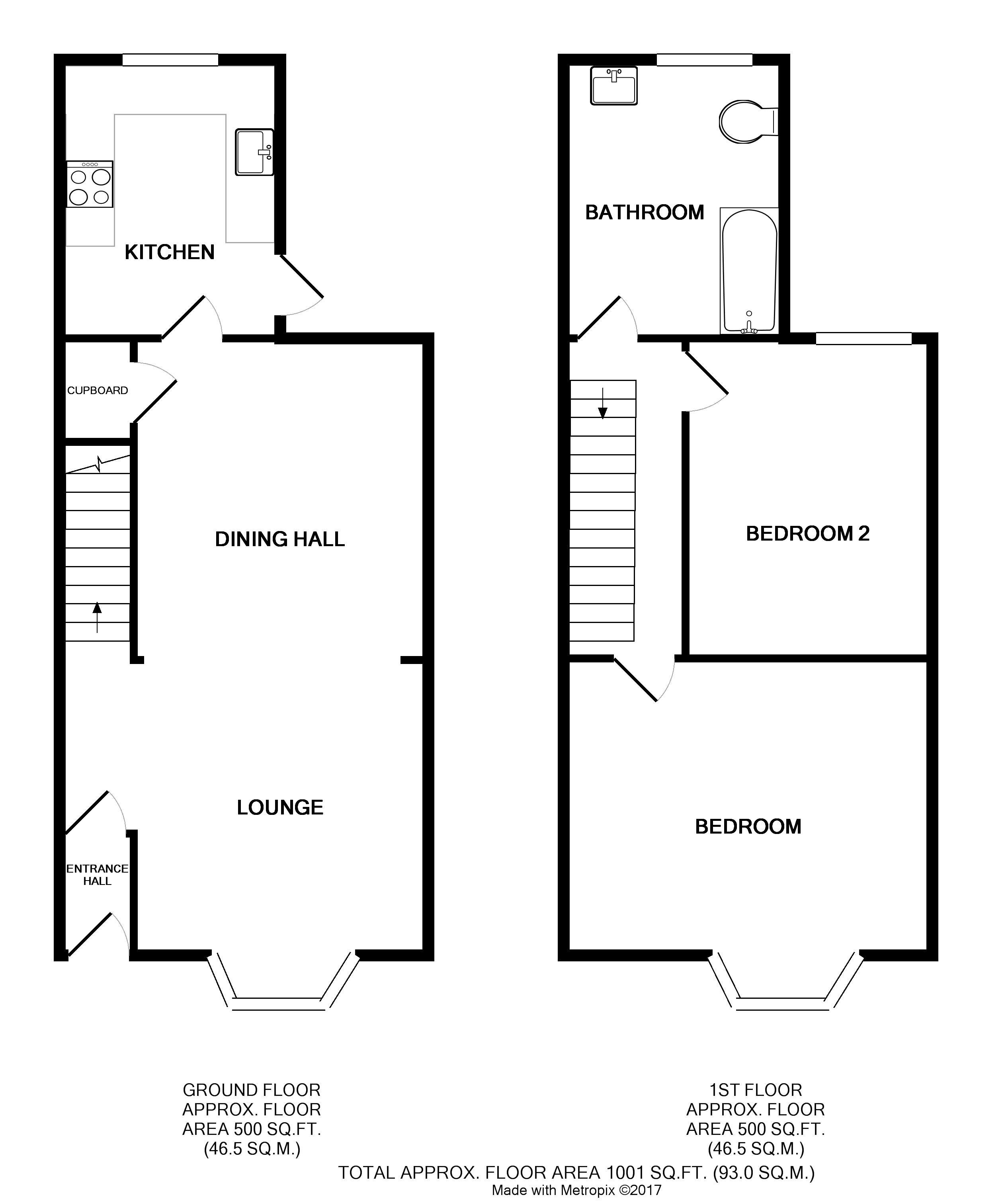 Terraced, £1250 Pcm, Ashgrove