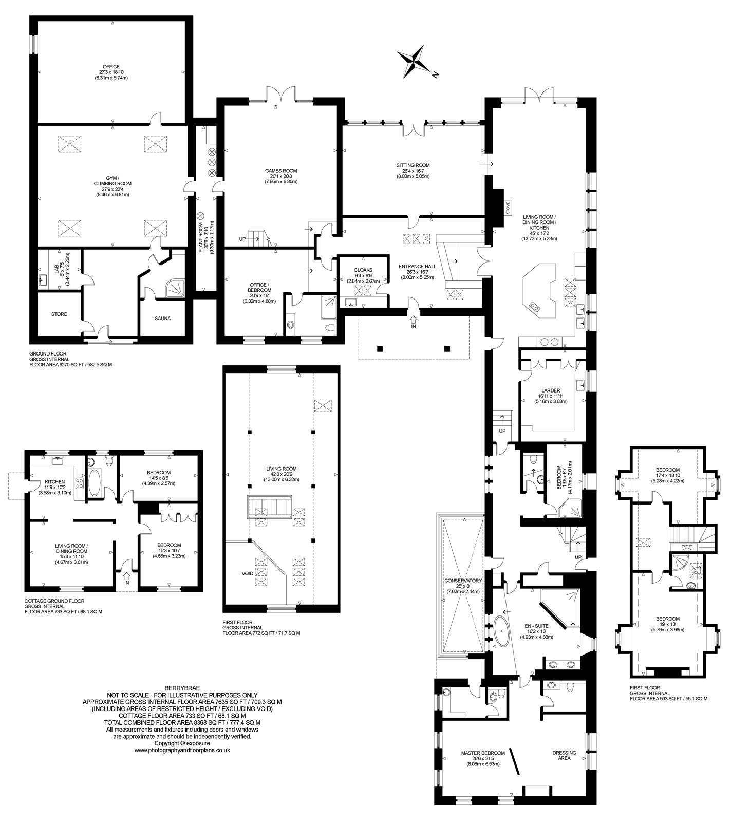 Floorplans for Wester Essendy, Blairgowrie, Perthshire, PH10