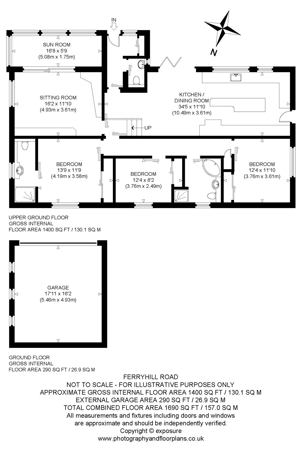 Floorplans for Ferryhills Road, North Queensferry, Inverkeithing, KY11