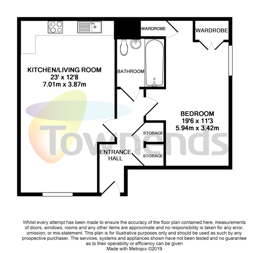 1 Bedroom Property For Sale In Rectory Court Walnut Tree Close