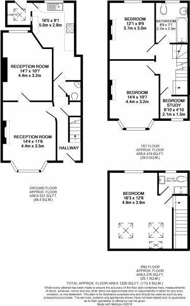 3 bedroom property for sale in Stirling Road, London - £575,000