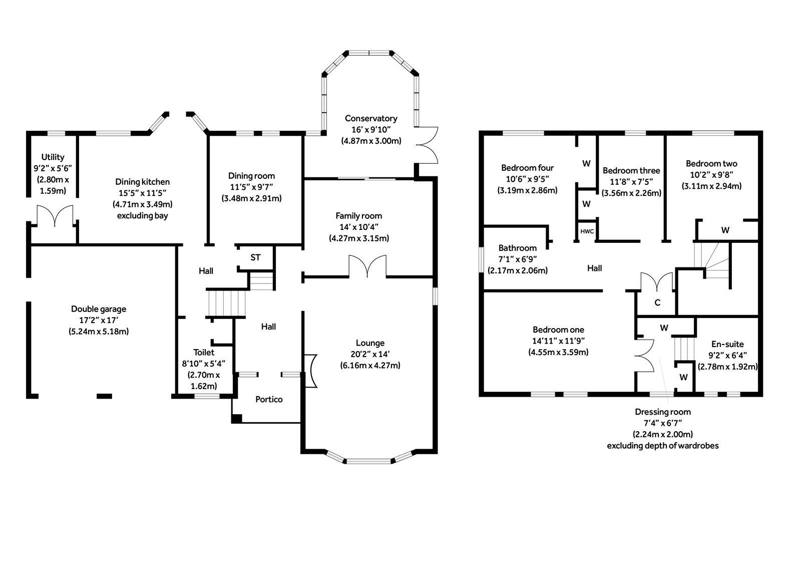 Floorplans for Schaw Drive, Bearsden, G61