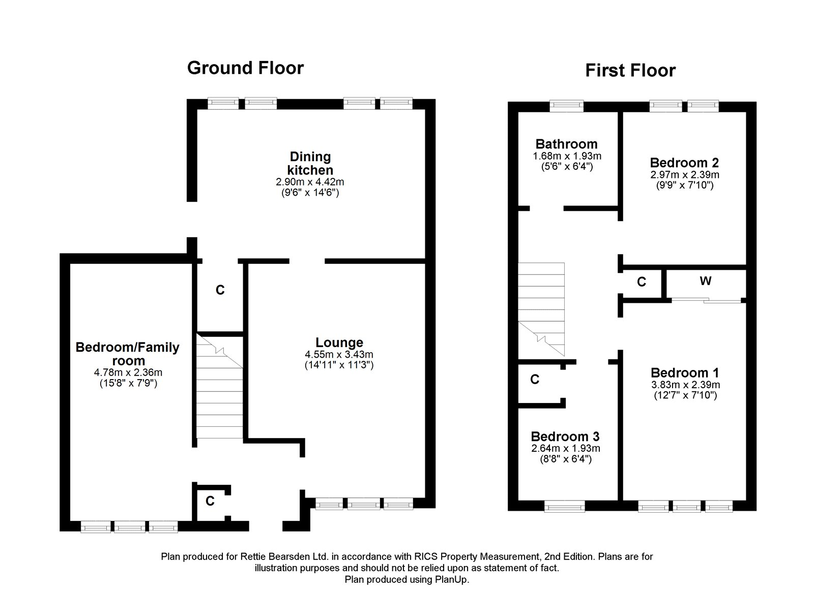 Floorplans for Castle Mains Road, Milngavie, G62