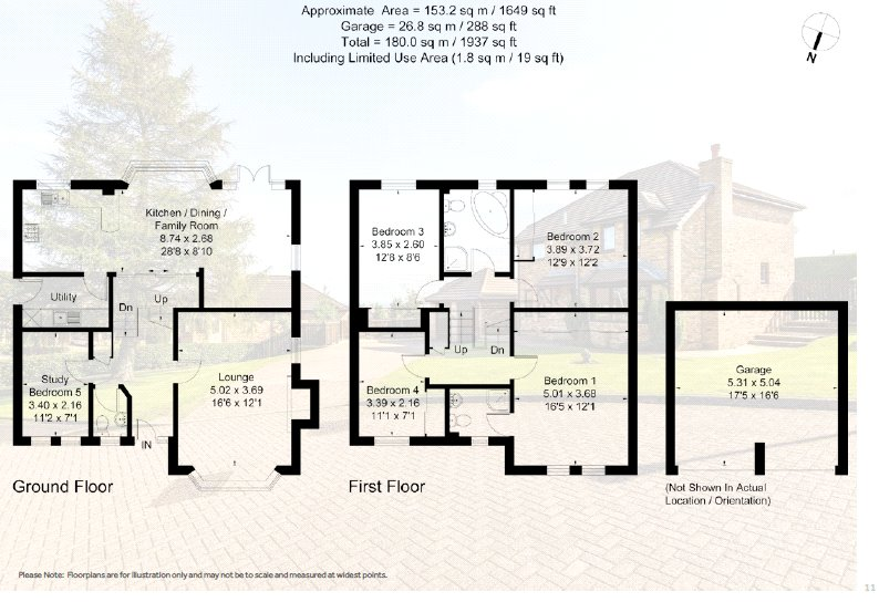 Floorplans for Alston Gardens, Bearsden, G61