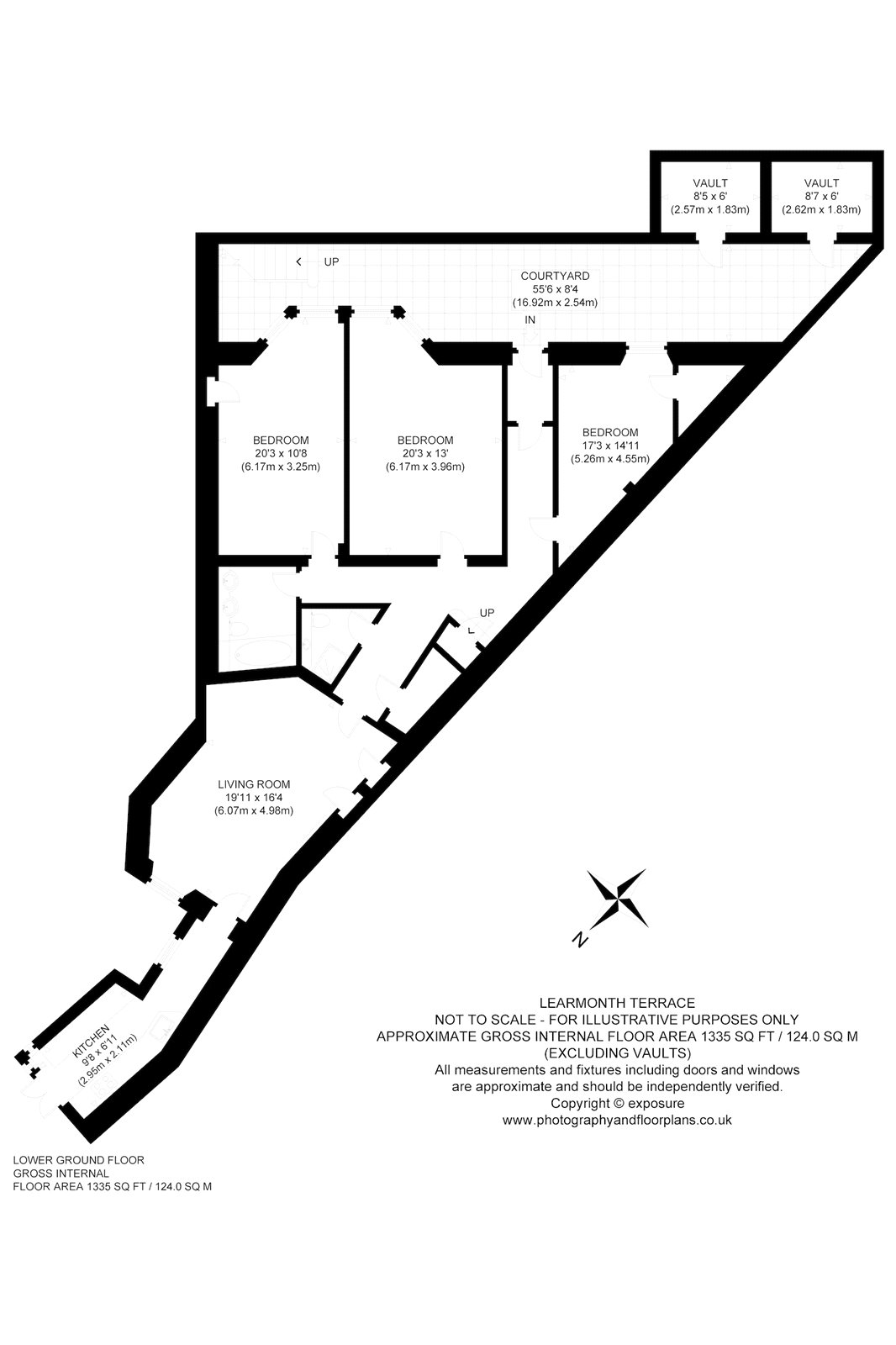 Floorplans for Learmonth Terrace, Edinburgh, EH4
