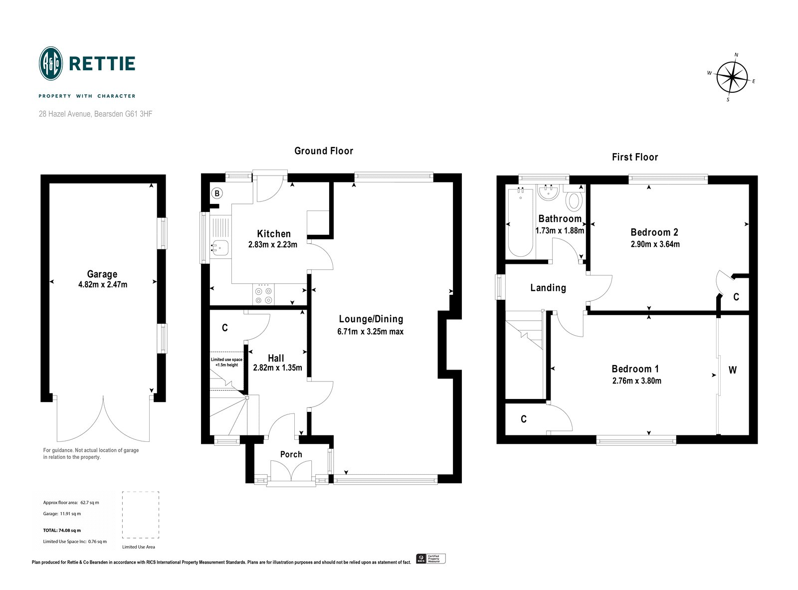 Floorplans for Hazel Avenue, Bearsden, G61