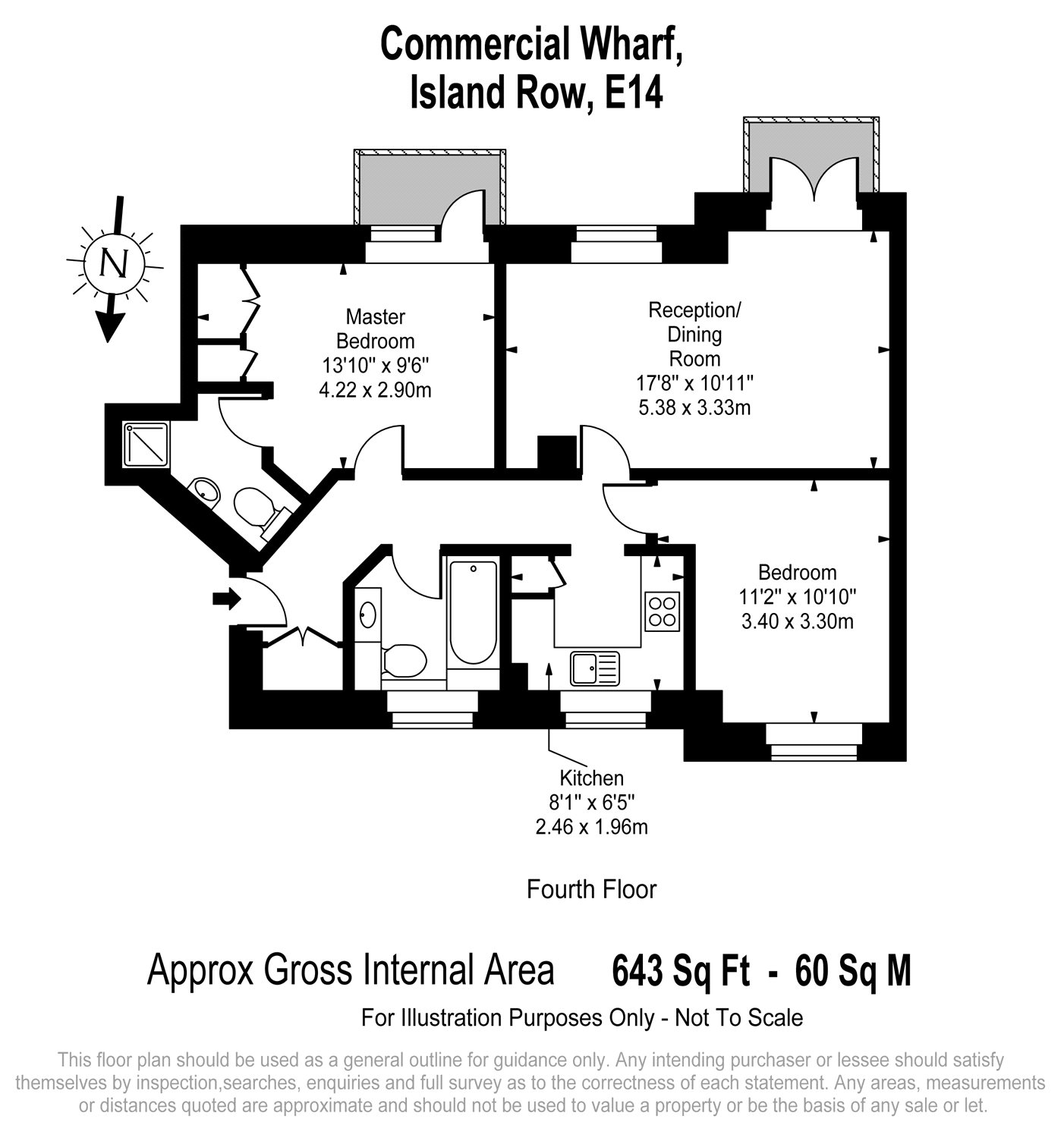 Island Row, Limehouse, E14 floorplan
