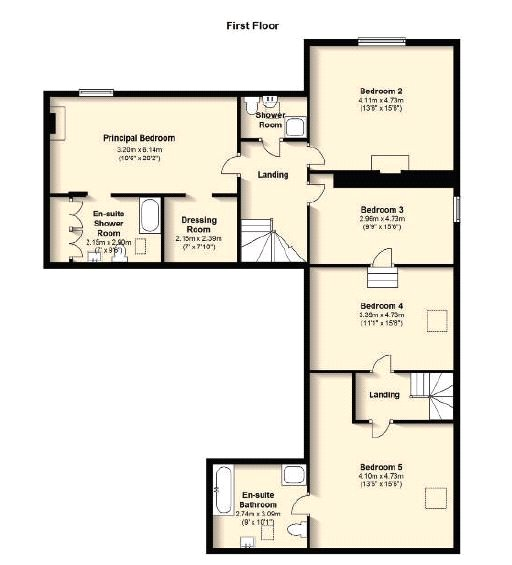 Floorplans for Glenkerry, Ettrick Valley, Selkirk, TD7