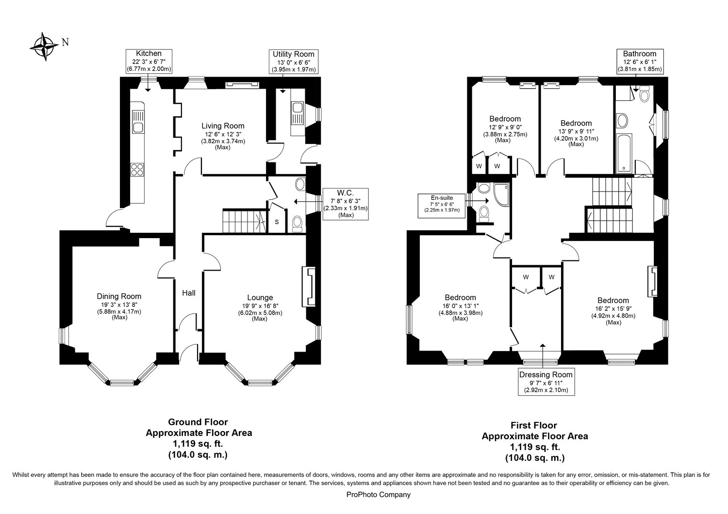 Floorplans for Bergamot House, The Friars, Jedburgh, TD8