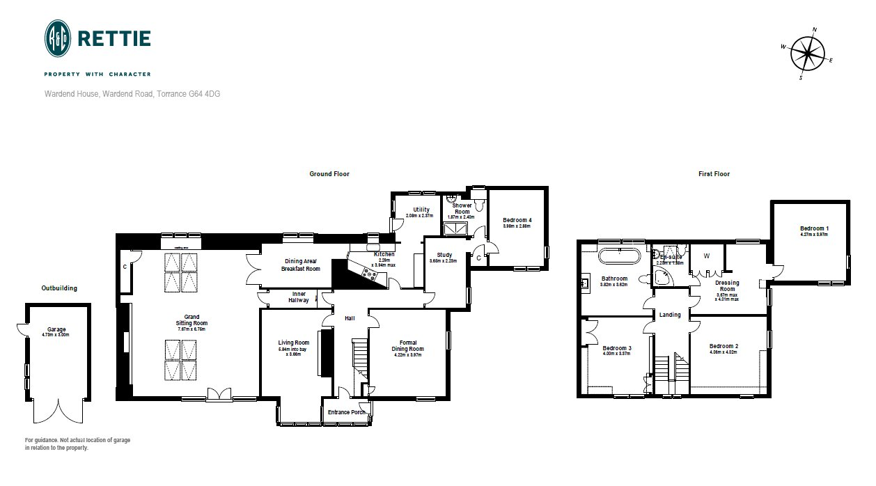 Floorplans for Wardend Road, Torrance, G64