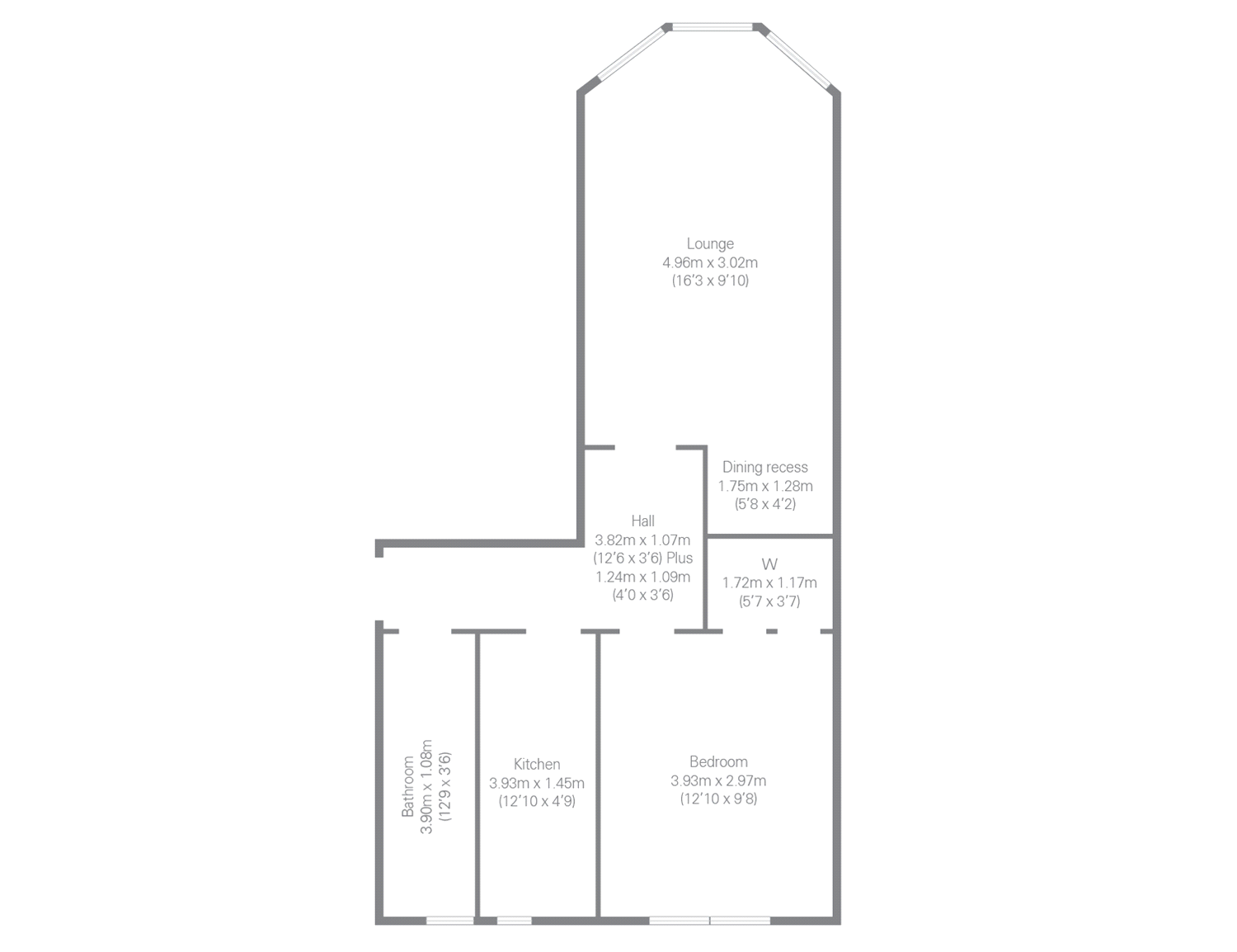 Floorplans for Linden Place, Anniesland, Glasgow, G13