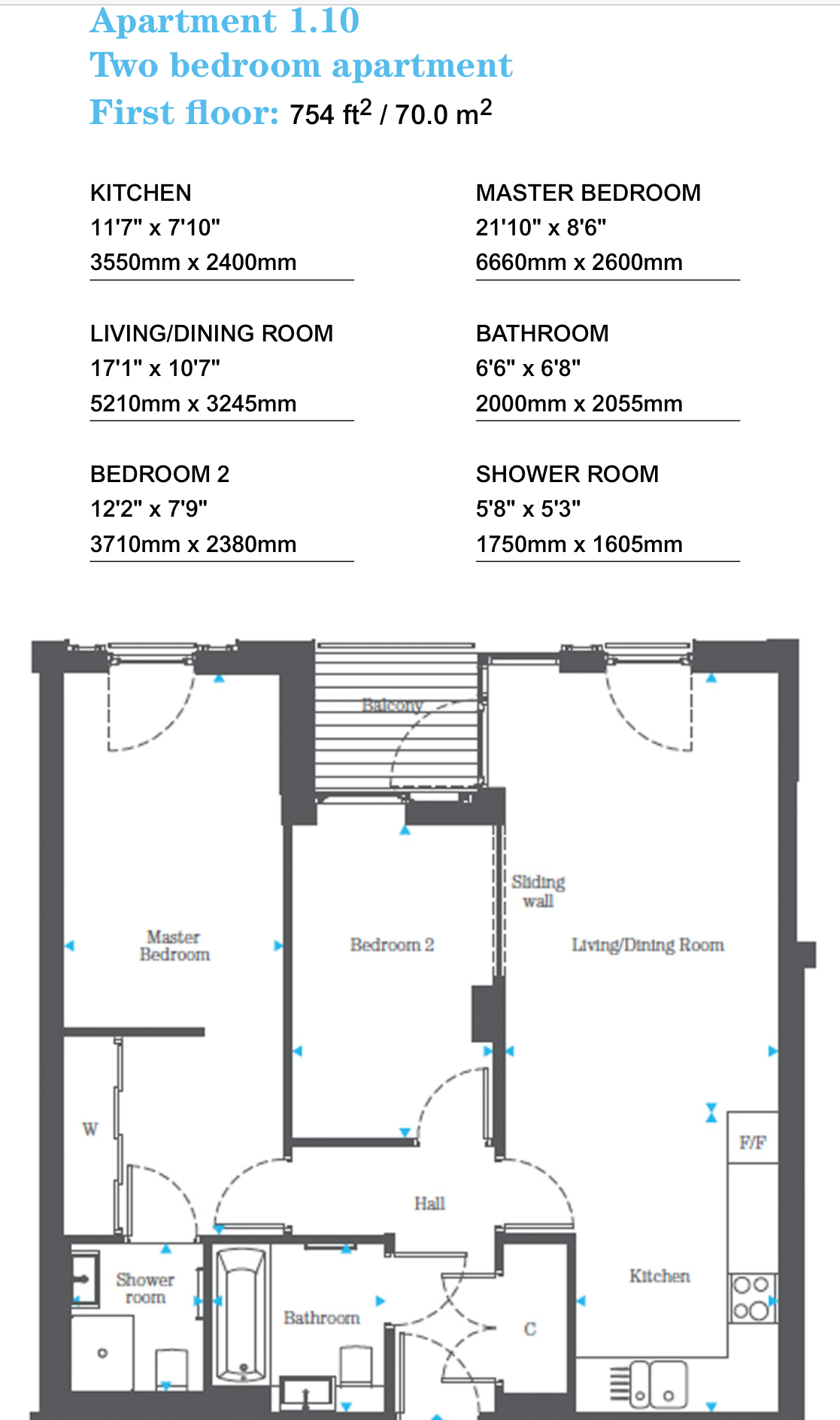 Shoreditch Tube Station: 2 Bedroom Property To Let In Decorum Apartments, 3