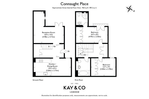 Floorplan for Connaught Place, Hyde Park, London, W2
