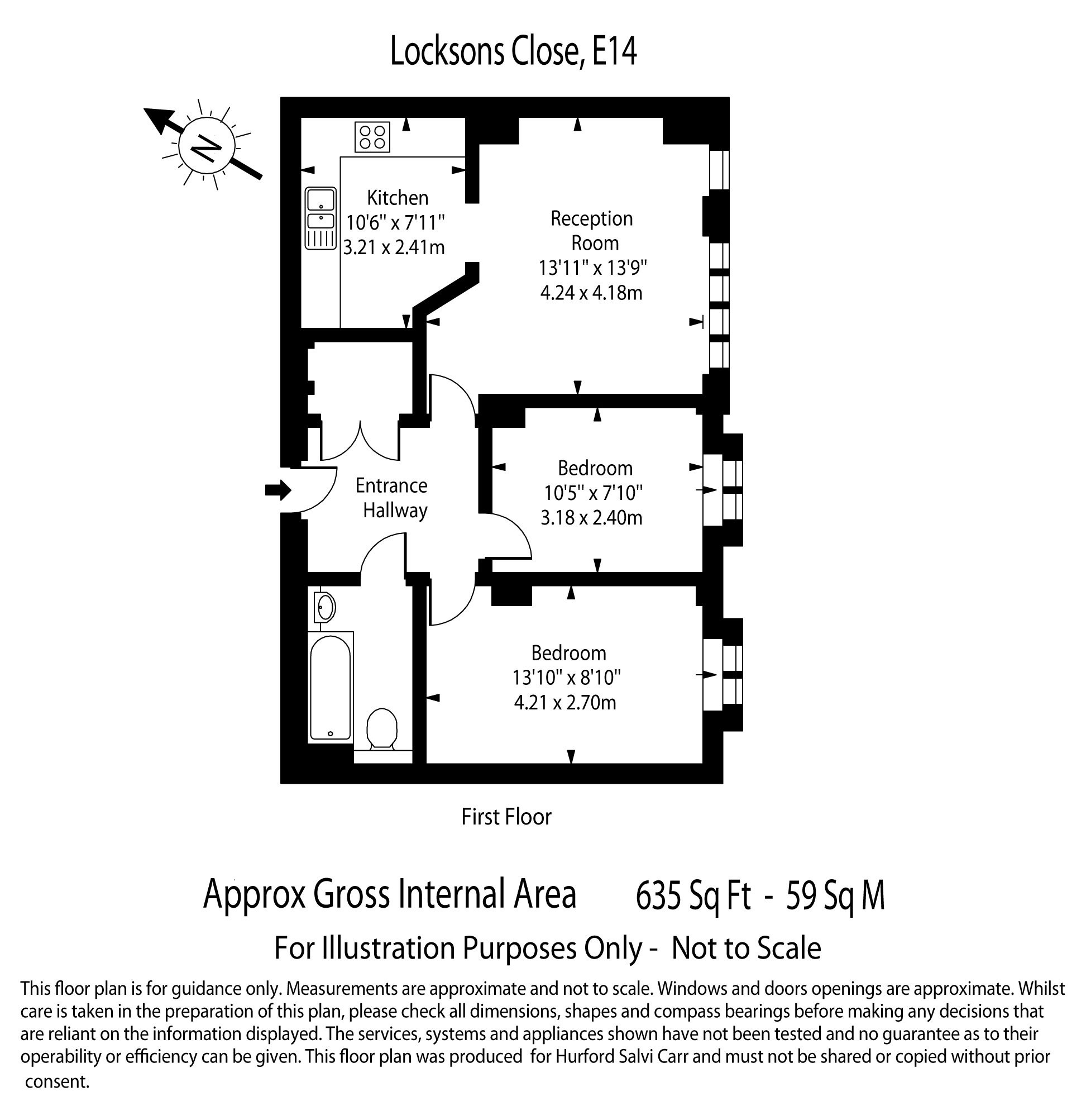 Locksons Close, Poplar, E14 floorplan
