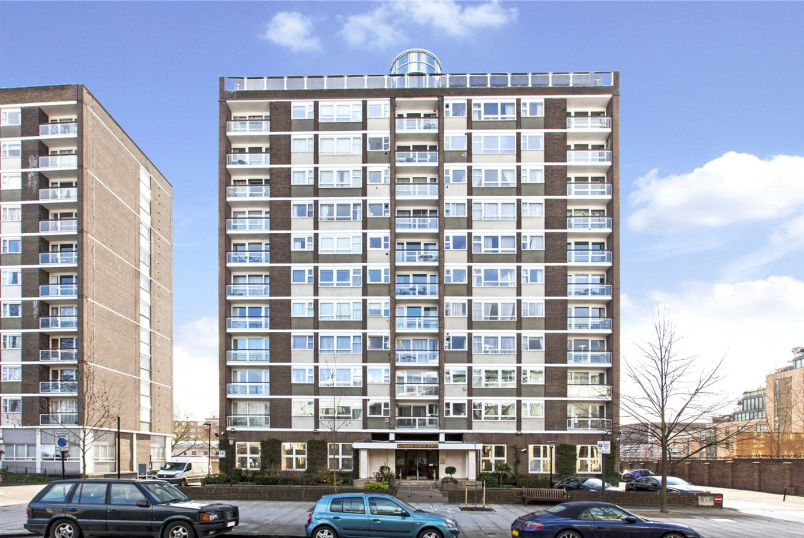 Flat/apartment to let - Lords View II, St John's Wood Road, London, NW8