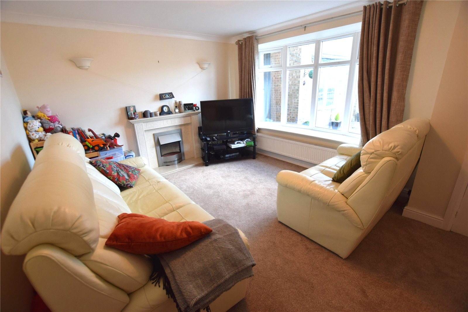 Property for sale in Wortley, interior living room