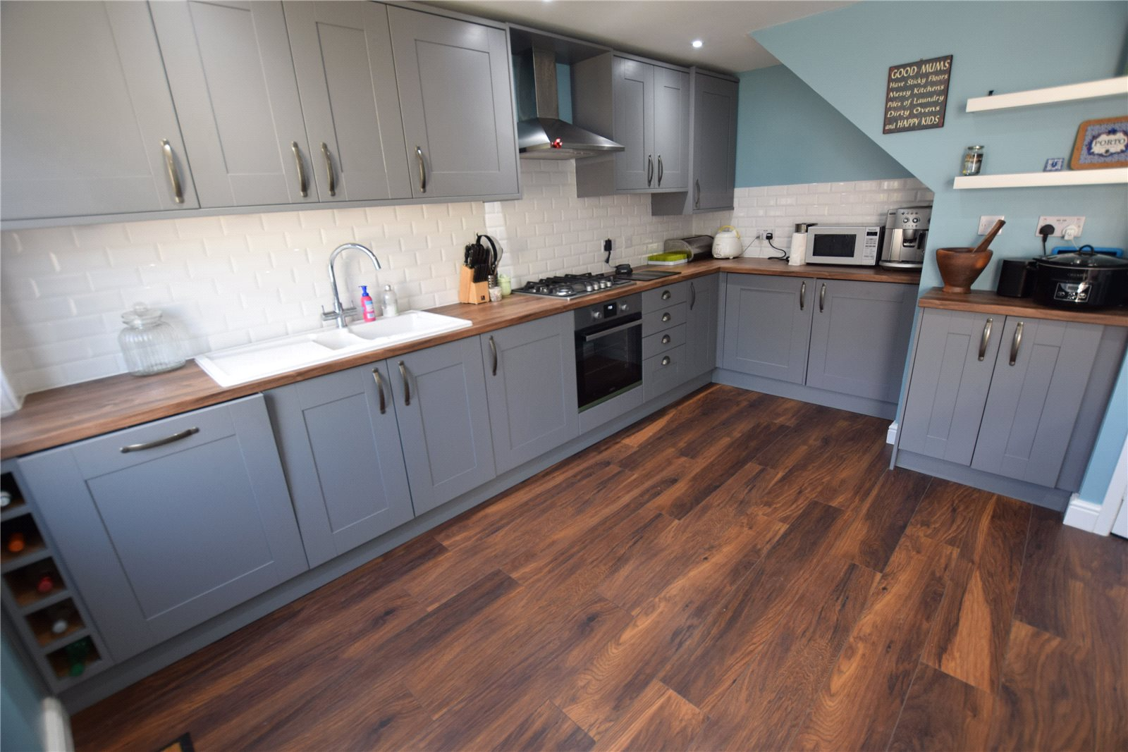 Property for sale in Wortley, interior kitchen of home