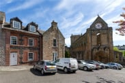 View of Abbey Close, Jedburgh, Scottish Borders, TD8