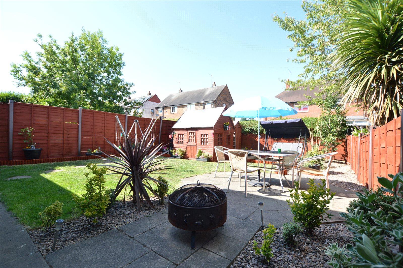 property for sale in Morley, back garden