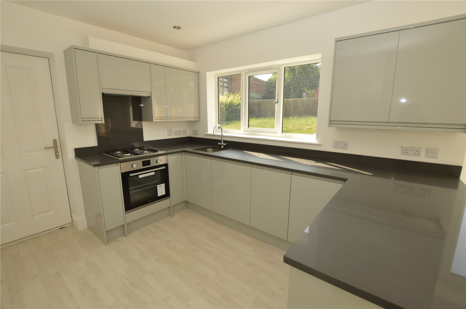 property for sale in rothwell, modern kitchen
