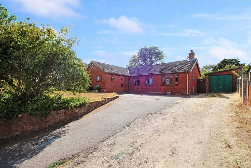 Bungalow for sale in Poringland - Low Bungay Road, Loddon, Norwich, NR14