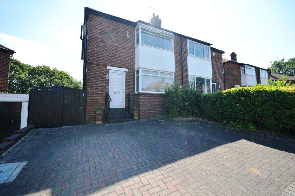 property for sale in Horsforth, exterior of home, semi detached