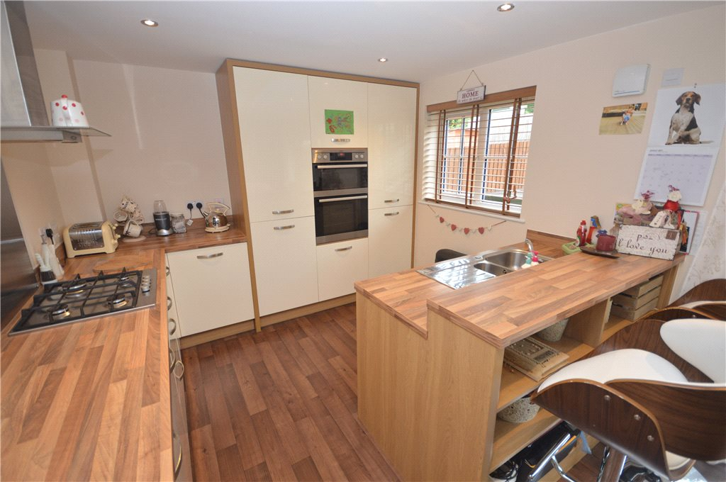 property for sale in Guiseley, interior fitted cream kitchen