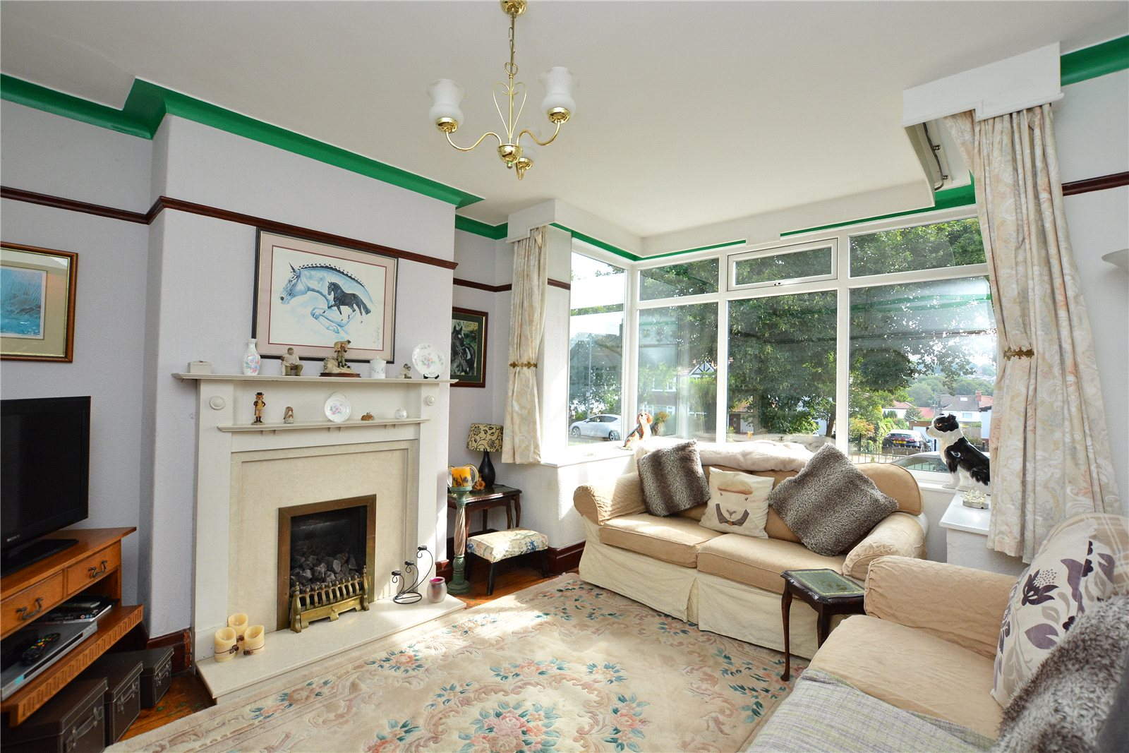 Property for sale in Horsforth, living room, spacious