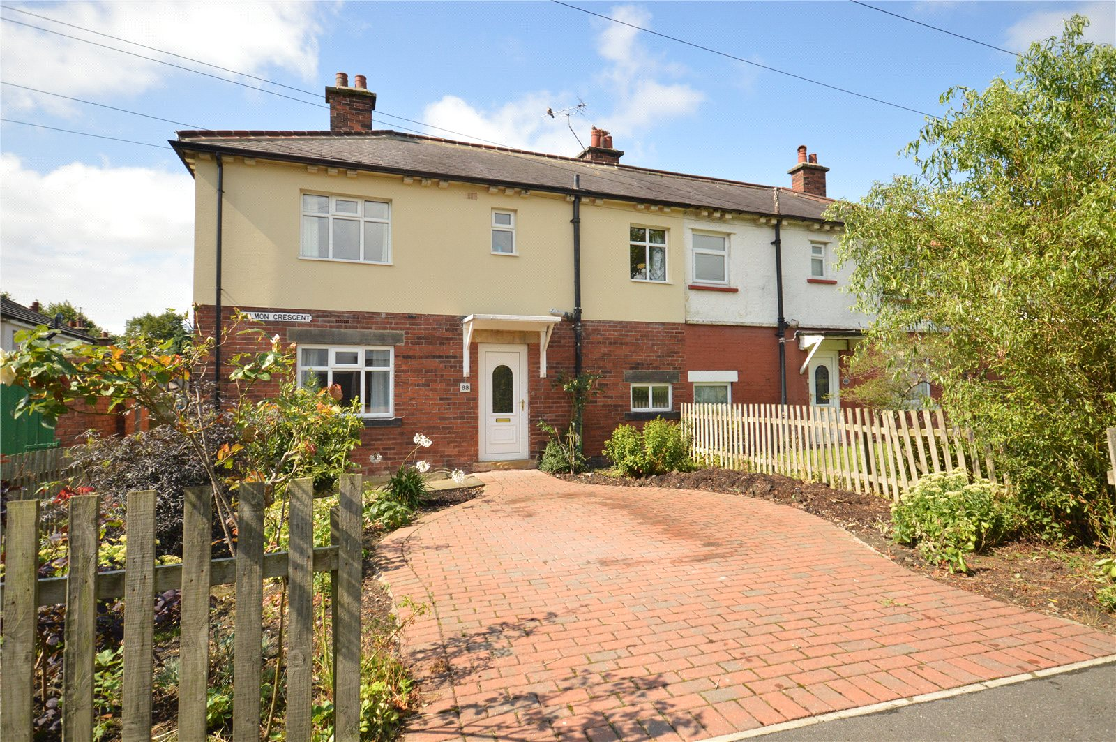 Property for sale in Horsforth, exterior semi-detached home