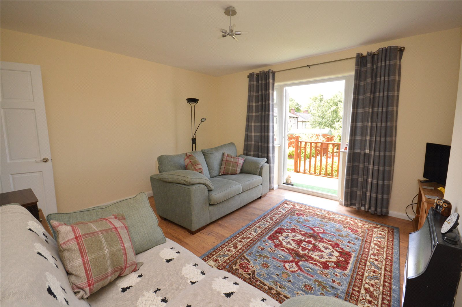 Property for sale in Horsforth, living room area, two sofas, well decorated