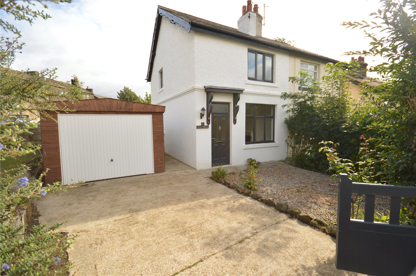 Property for sale in Horsforth, semi detached exterior of home