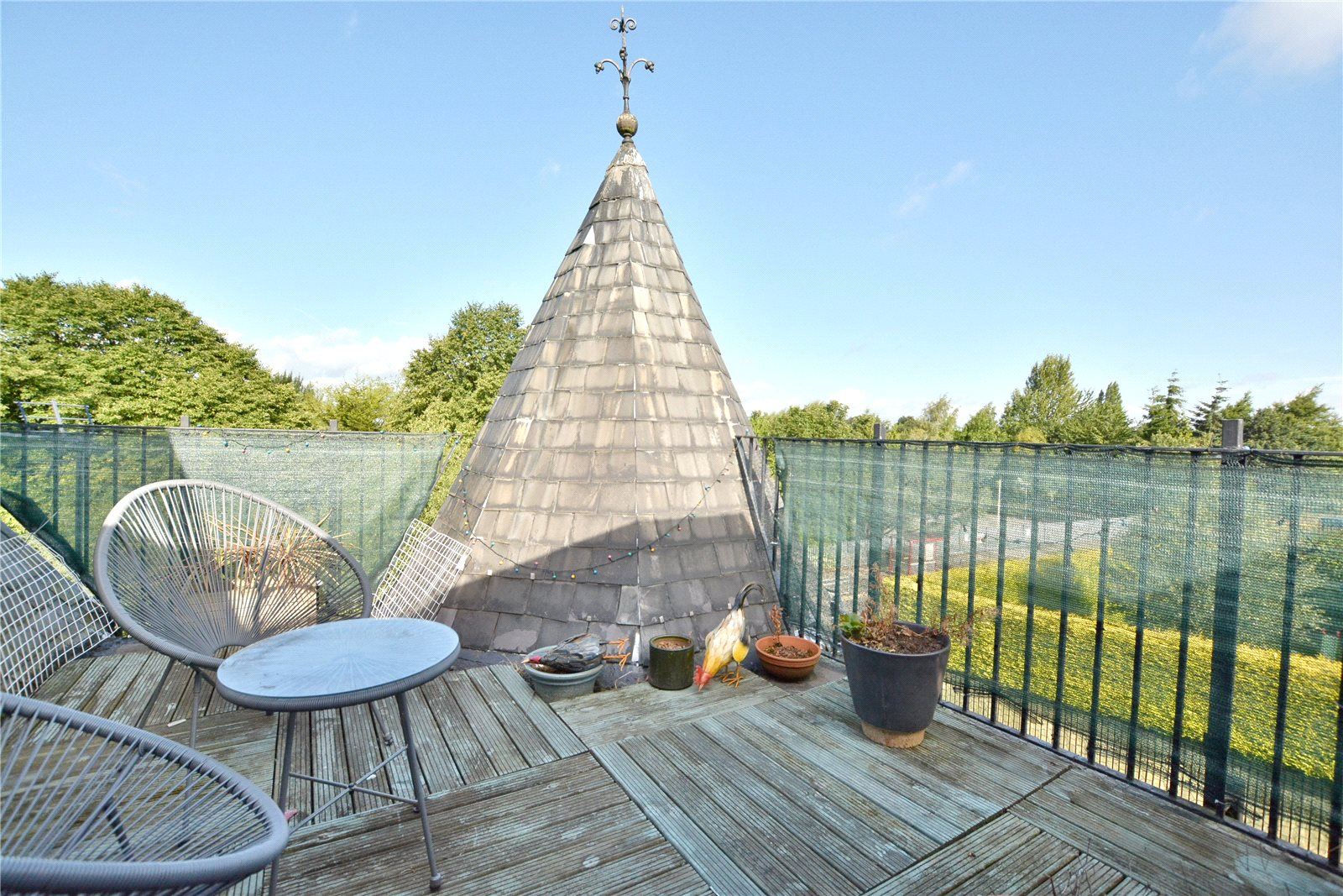 Property for sale in Oakwood, roof terrace