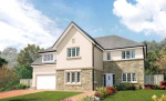 View of Dalgleish Drive, Bearsden, Glasgow, G61
