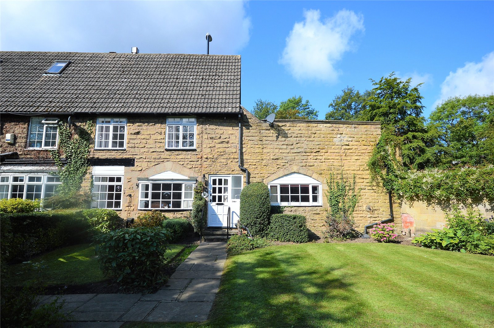 property for sale in Leeds, exterior of sottage style house