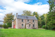 View of Keillour Farmhouse, Methven, Perthshire, PH1