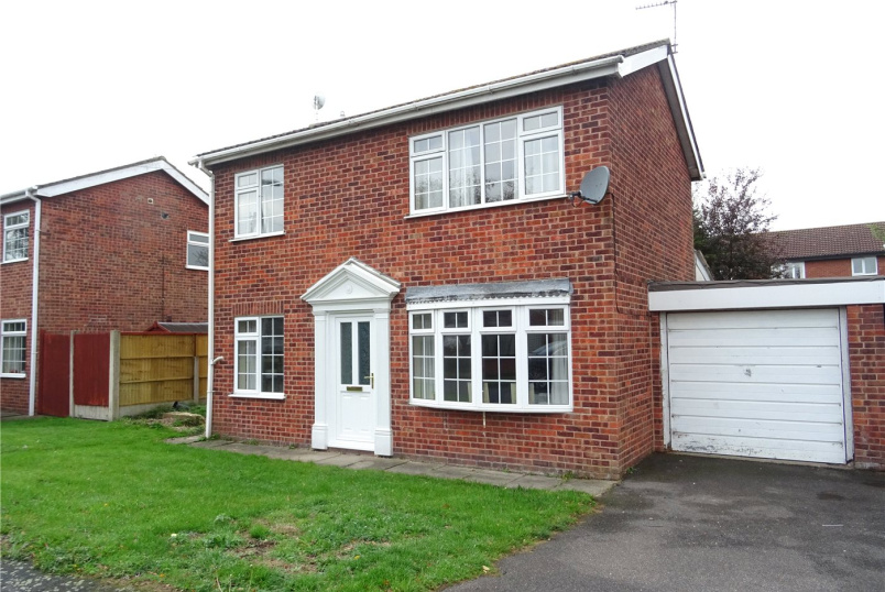 House for sale in Newark - Tinsley Close, Claypole, Newark, NG23