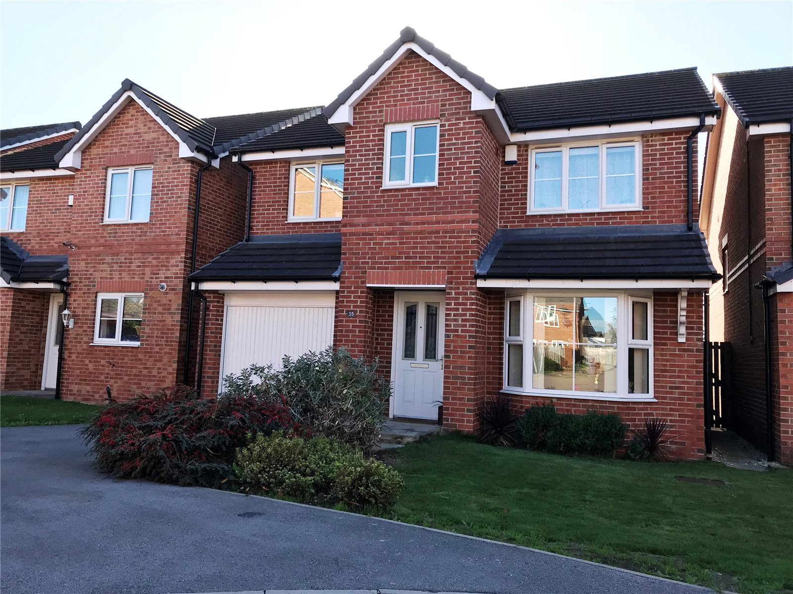Property for sale in Wakefield, exterior of red brick house